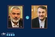 اولین گفت و گوی سران مقاومت فلسطین با امیرعبداللهیان، وزیر خارجه ایران