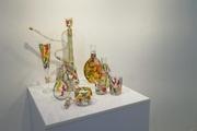 """نمایشگاه """"شیشعر"""" در بوشهر گشایش یافت"""