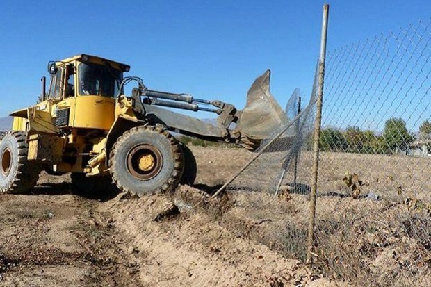 تخریب 114 ساخت و ساز غیرمجاز در اراضی کشاورزی کرج