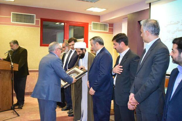 موکبداران آخر ماه صفر در مشهد تجلیل شدند