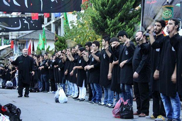 عزاداری مرزنشینان آستارا در روز تاسوعا