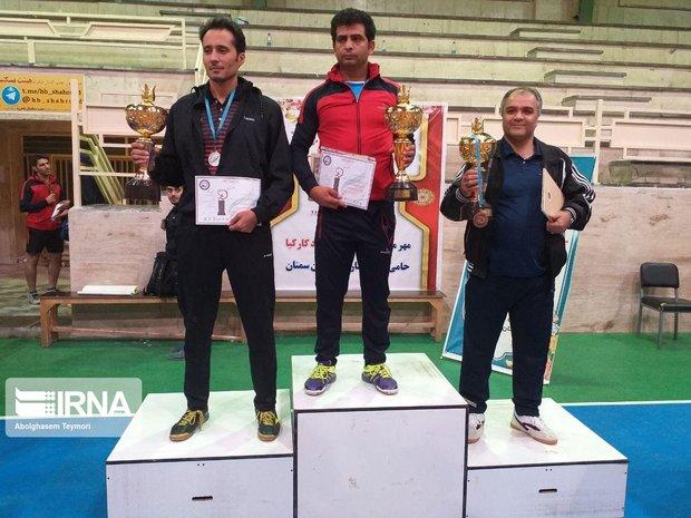 تیم استان قم قهرمانی تنیس روی میز کارگرتن کشور شد