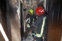 ۱۵ نفر از آتش سوزی ساختمان پنج طبقه در مشهد نجات یافتند