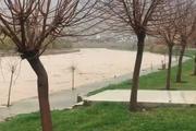 دبی رودخانه «خرمآباد» هر لحظه در حال افزایش است