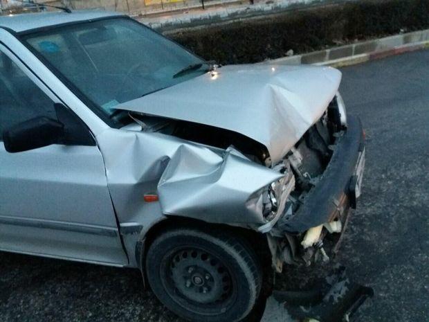 تصادف در جاده ازنا - اراک یک کشته و سه مصدوم داشت