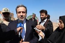 معاون وزیر خارجه در جمع کاروان راهیان نور در شلمچه حضور یافت