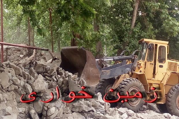 بیش از 2 هزار مترمربع از اراضی ملی در شهریار رفع تصرف شد