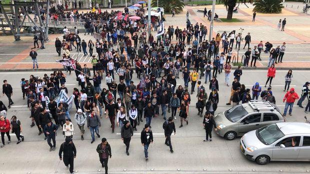 کلمبیاییها دوباره اعتصاب کردند
