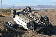 تخطی از سرعت جان راننده بجنوردی را گرفت