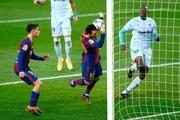 بارسلونا در خانه حریف والنسیا نشد