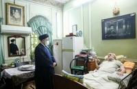 حضور رییسی در آسایشگاه جانبازان امام خمینی (ره) (2)