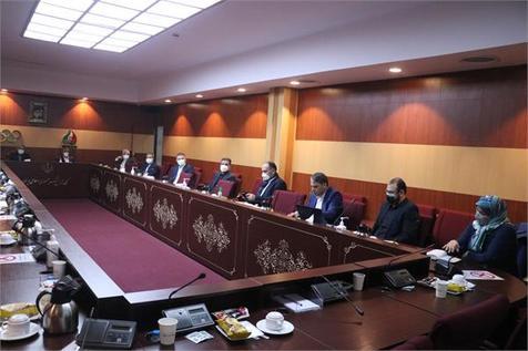 نشست هیات اجرایی کمیته ملی المپیک با حضور هیات رئیسه فدراسیون تنیس