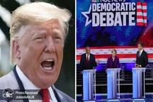 همه چیز در مورد نخستین دوئل تلویزیونی دموکرات ها+ تصاویر