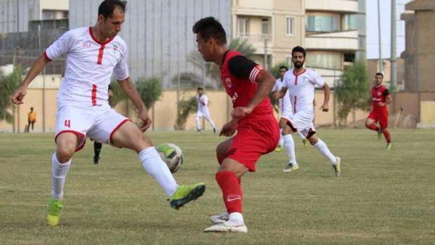 شکست خانگی تیم فوتبال امید گناوه مقابل فولادنوین اهواز