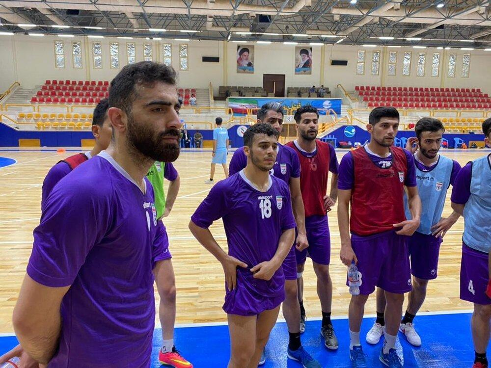 پیگیری تمرینات تیم ملی فوتسال ایران در جزیره کیش