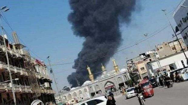تکذیب خبر آتشسوزی در نزدیکی بینالحرمین