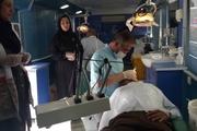 گروه جهادی دندانپزشکان به محرومان زادگاه سردار دلها خدماترسانی کردند
