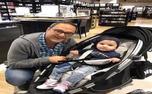 رامبد جوان در کنار دخترش/ عکس