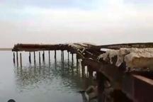 اسکله تاریخی خور غزاله ماهشهر در معرض تخریب است