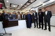 بازدید رئیس جمهور از مرکز مانیتورینگ سازمان آب و برق استان خوزستان