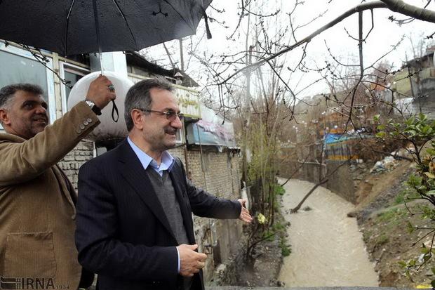 آخرین وضعیت استان تهران در جریان بارش ها از زبان استاندار