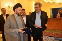 دیدار شهردار تهران با سید عمار حکیم
