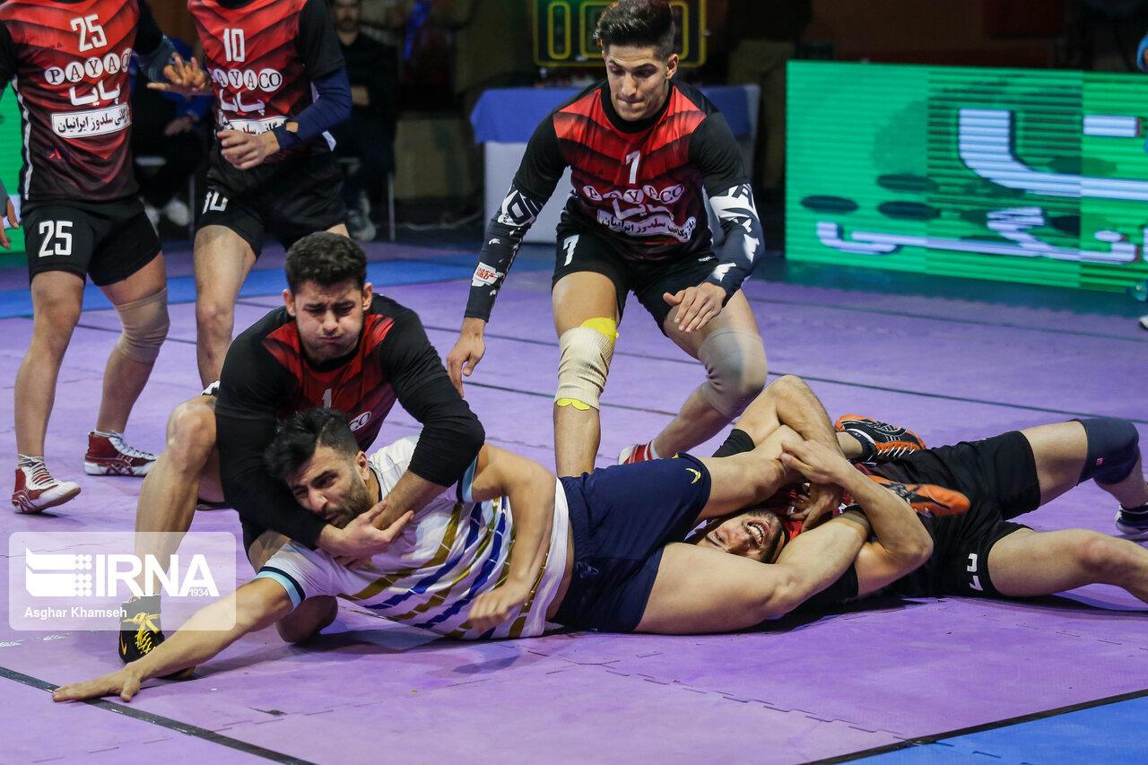 هفته پنجم لیگ برتر کبدی در گرگان برگزار شد