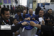 حضور صابئین همگام با برادران مسلمان درپای صندوق رای