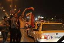 قدردانی از ملی پوشان فوتبال بندرعباسی ها را به خیابان کشاند