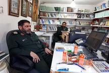 بازدید فرمانده سپاه نینوا از موسسه آثار امام خمینی در گرگان