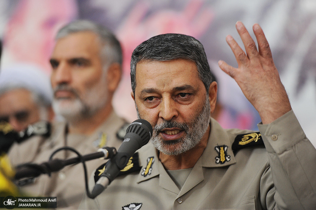 فرمانده کل ارتش: مشارکت حداکثری پیششرط قوی شدن است