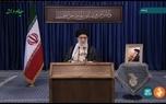 درج بخشی از وصیتنامه امام در تریبون سخنرانی امروز رهبرانقلاب به مناسبت 14 خرداد + عکس