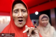 بزرگترین انتخابات یک روزه جهان در پرجمعیت ترین کشور مسلمان+ تصاویر