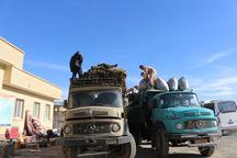 سه محموله کمک های سپاه قزوین به مناطق سیل زده گلستان ارسال شد