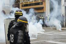 ادامه اعتراض های جنبش جلیقه زردها در فرانسه
