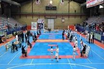 رقابت های کاراته قهرمانی کشور در قزوین پایان یافت