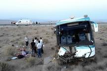 28 مصدوم در تصادف اتوبوس در محور رفسنجان- انار