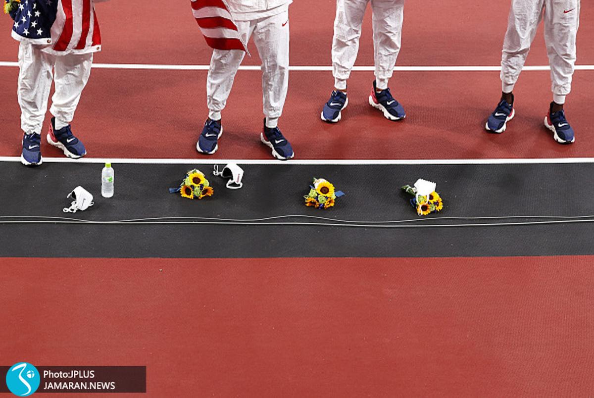 عکس روز المپیک ۲۰۲۰ توکیو| امداد آمریکایی