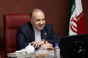 وزیر ورزش و جوانان وارد خوزستان شد  حضور در مراسم افتتاحیه کشتی جام تختی
