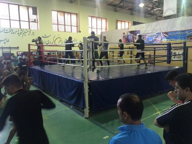 ۲۴ ورزشکار در اردوی تیم ملی بوکس در اهر حضور دارند