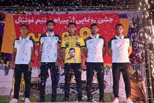 پیراهن تیم 90 ارومیه رونمایی شد