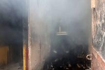 آتش سوزی یک باب منزل مسکونی در دزفول