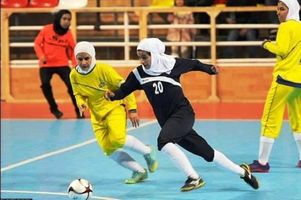 تیم های فوتسال بانوان یزد حریفان خود را برای حضور در لیگ کشور شناختند
