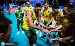 حرکات عجیب و جنجالی والیبالیست های استرالیا در دیدار مقابل ایران+ ویدیو