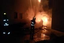 آتش سوزی در بازار قدیم درگهان قشم 60 مغازه دچار حریق شد