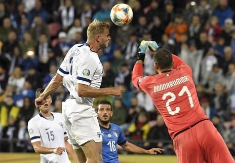 برتری دشوار ایتالیا در خانه فنلاند/ پیروزی اسپانیا در شب رسیدن راموس به رکورد کاسیاس