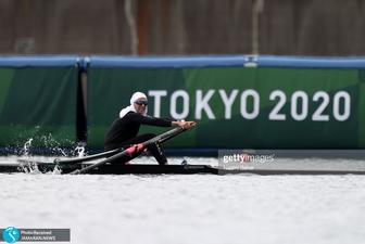 پایان کار نازنین ملایی در قایقرانی المپیک با بهترین رده تاریخ ایران+ عکس