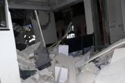 انفجار شدید در یک ساختمان ۴ طبقه مسکونی/ عکس