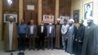 بازدید اعضای کنسولگری جمهوری اسلامی ایران از بیت تاریخی امام در نجف