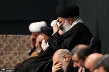 آخرین شب عزاداری فاطمیه در حسینیه امام خمینی